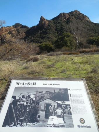 The spot where the M*A*S*H* photo was taken